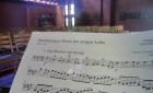 Blockflötenensemble im Gottesdienst