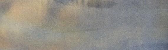 Eine blassblaue Frauenschrift…