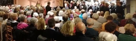 """audienda-Chor Krefeld sang """"Missa Brasileira"""" von und mit Jean Kleeb"""